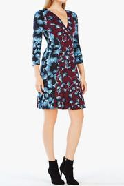 BCBG Max Azria Floral Wrap Dress - Front cropped