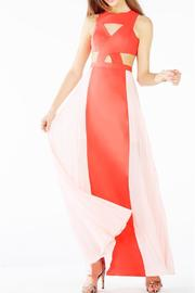 BCBG Max Azria Giselle Cutout Dress - Front cropped
