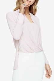 BCBG Max Azria Jaklyn Draped-Front Blouse - Product Mini Image