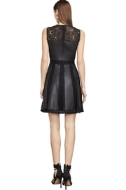 BCBG Max Azria Leather & Lace Dress - Product Mini Image