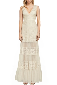 BCBG MAXAZRIA Metallic Lace Gown - Product List Image