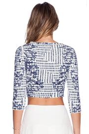 BCBG Max Azria Miranduh Crop Top - Front full body
