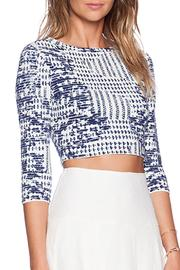 BCBG Max Azria Miranduh Crop Top - Side cropped