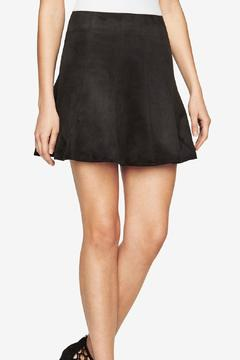 Shoptiques Product: Nicky Faux Suede Skirt