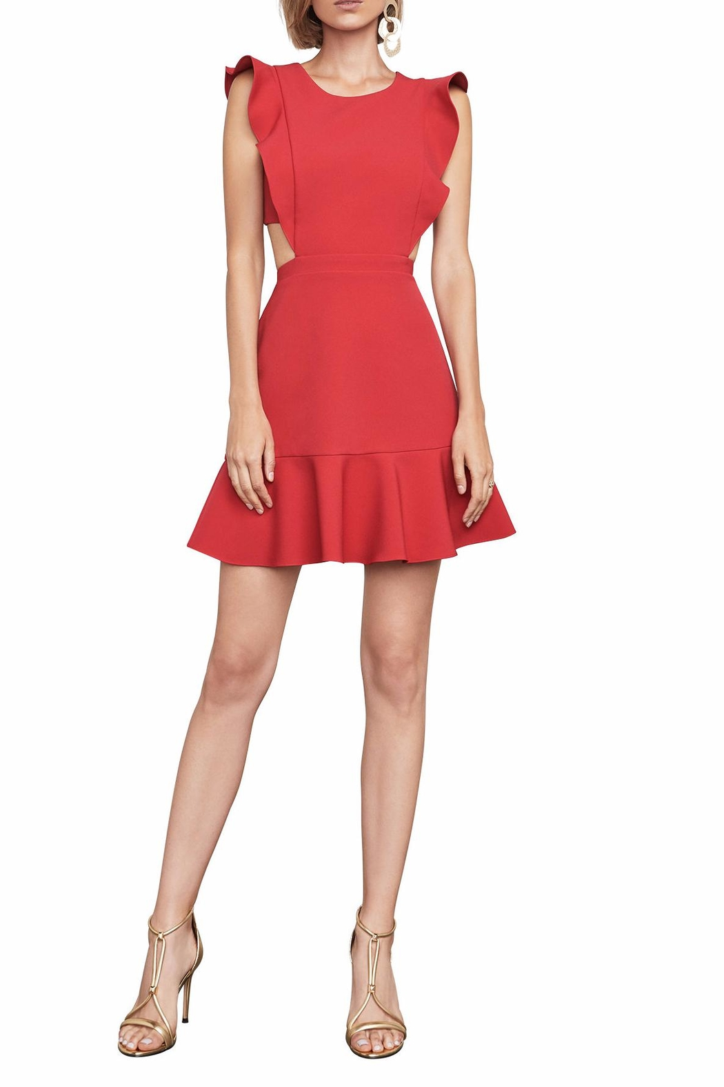 BCBG Max Azria Nicole Cutout Dress - Front Cropped Image