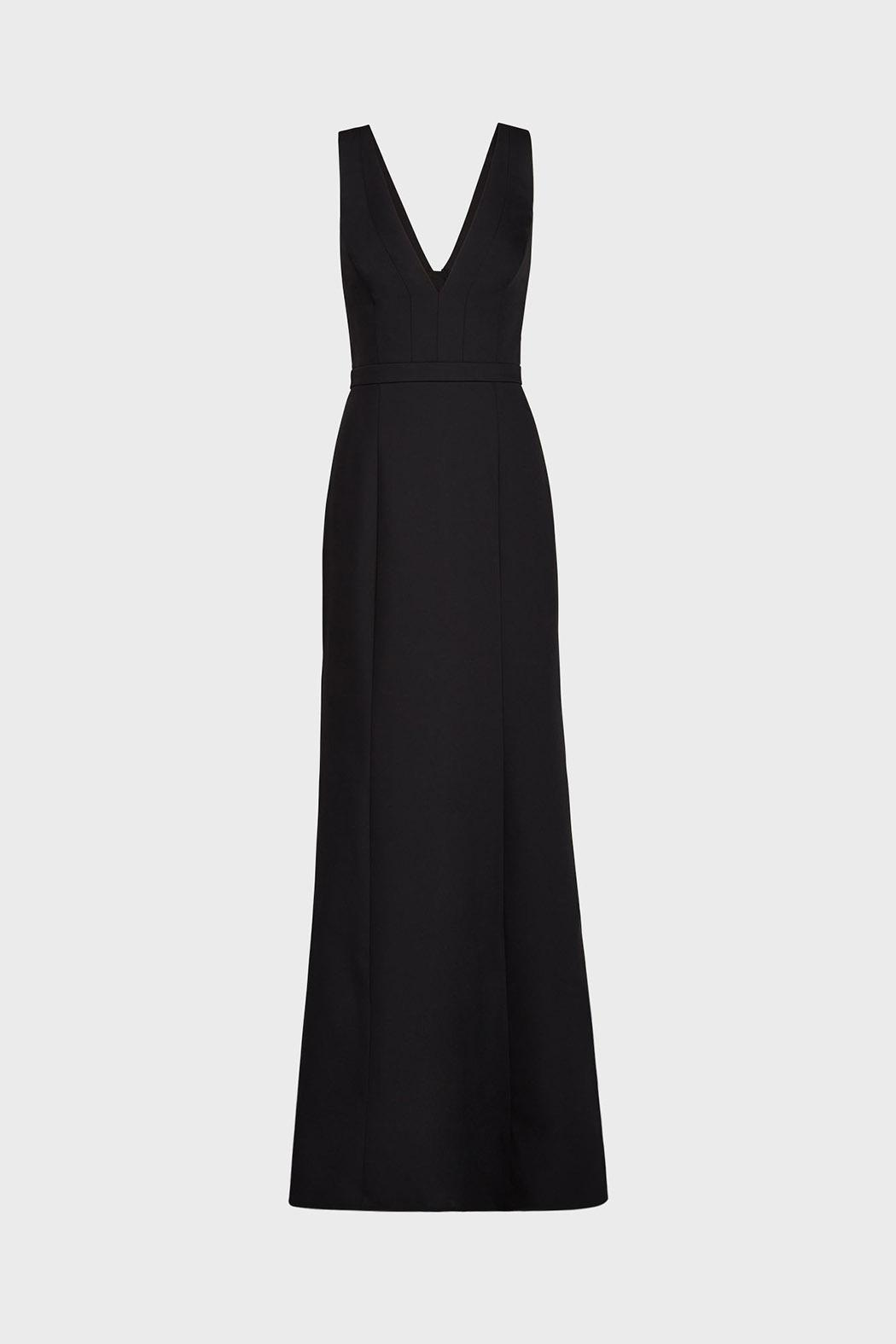 BCBG Max Azria Riva Black Gown from Dallas by Pax & Parker — Shoptiques