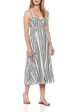 BCBG Max Azria Striped Cutout Sundress - Alternate List Image