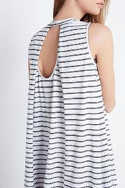 Shoptiques Product: A-Line Stripe Dress - Side cropped