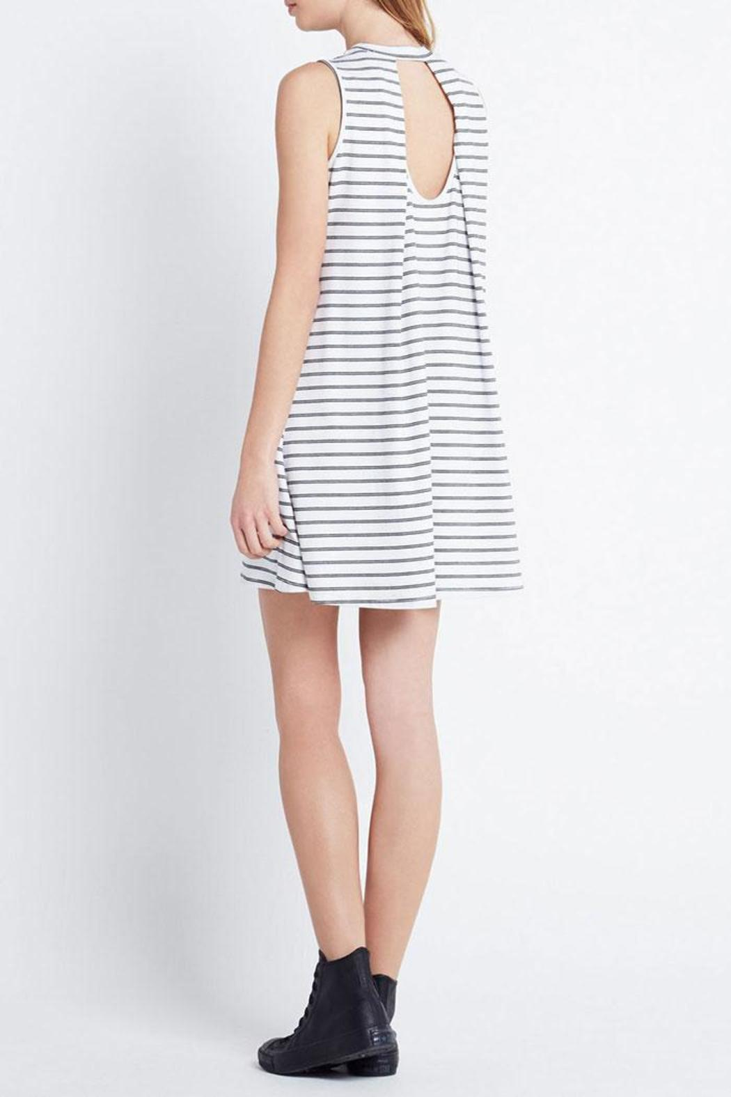A-Line Stripe Dress