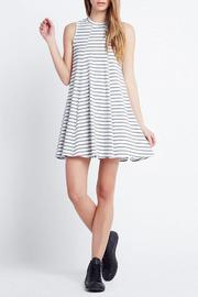 BCBGeneration A-Line Stripe Dress - Front cropped