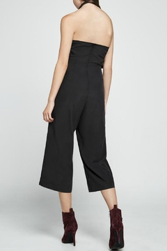 BCBGeneration Black Halter Jumpsuit - Alternate List Image