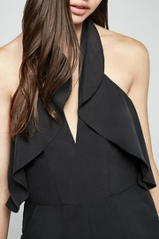 BCBGeneration Black Halter Jumpsuit - Product Mini Image