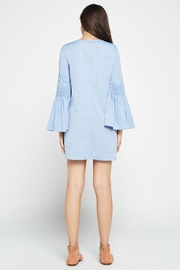 BCBGeneration Chambray Bell A-line Dress - Side cropped