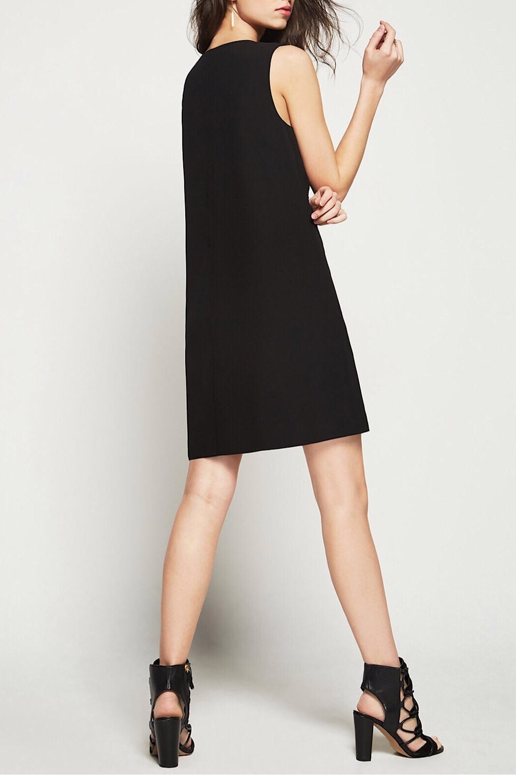 BCBGeneration Chiffon A-Line Dress - Side Cropped Image