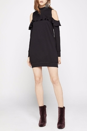 BCBGeneration Cold-Shoulder Mock-Turtleneck Dress - Product Mini Image