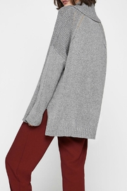 BCBGeneration Cowl-Neck Cotton Sweater - Front full body