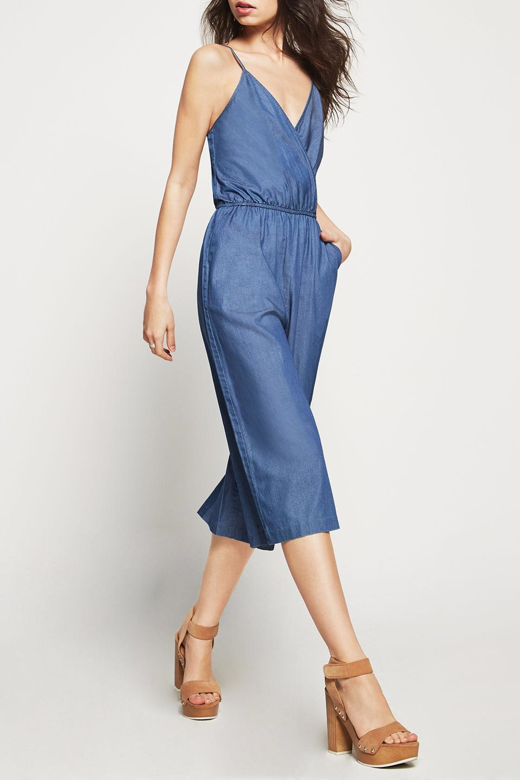 af87602732d7 BCBGeneration Denim Culotte Jumpsuit from Statesboro by Sole ...