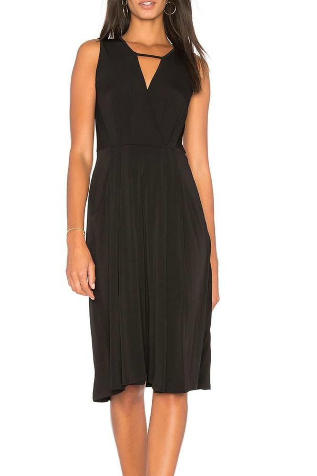 BCBGeneration Drape Midi Dress - Main Image
