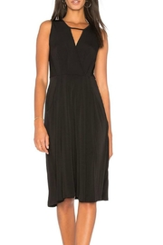BCBGeneration Drape Midi Dress - Front cropped