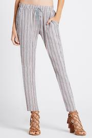 BCBGeneration Drawstring Pants - Front cropped