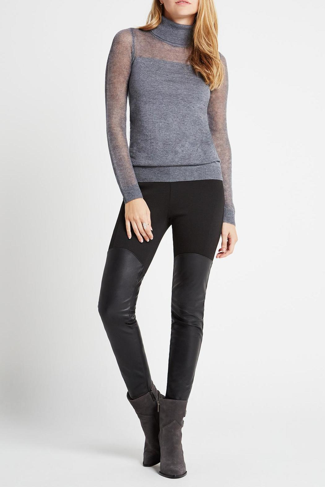 BCBGeneration Faux Leather Panel Legging from Hudson Valley by ...