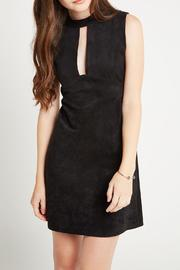 BCBGeneration Faux Suede Shift Dress - Product Mini Image