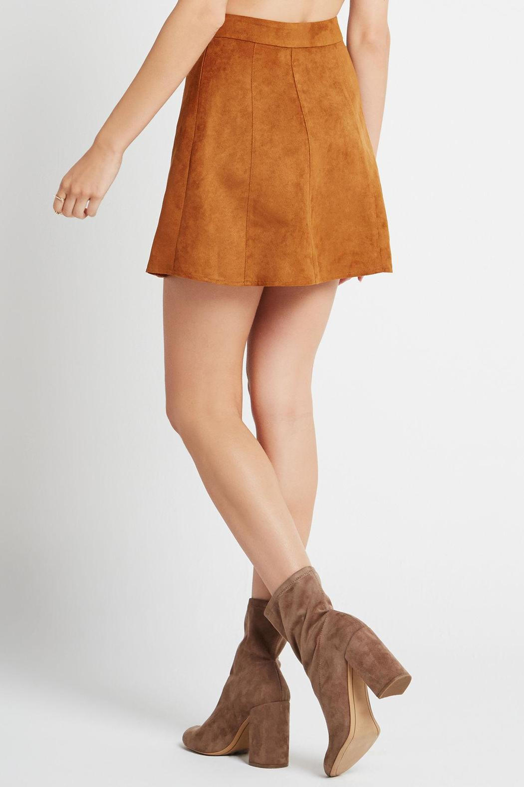 BCBGeneration Faux Suede Skirt from Georgia by High Maintenance ...