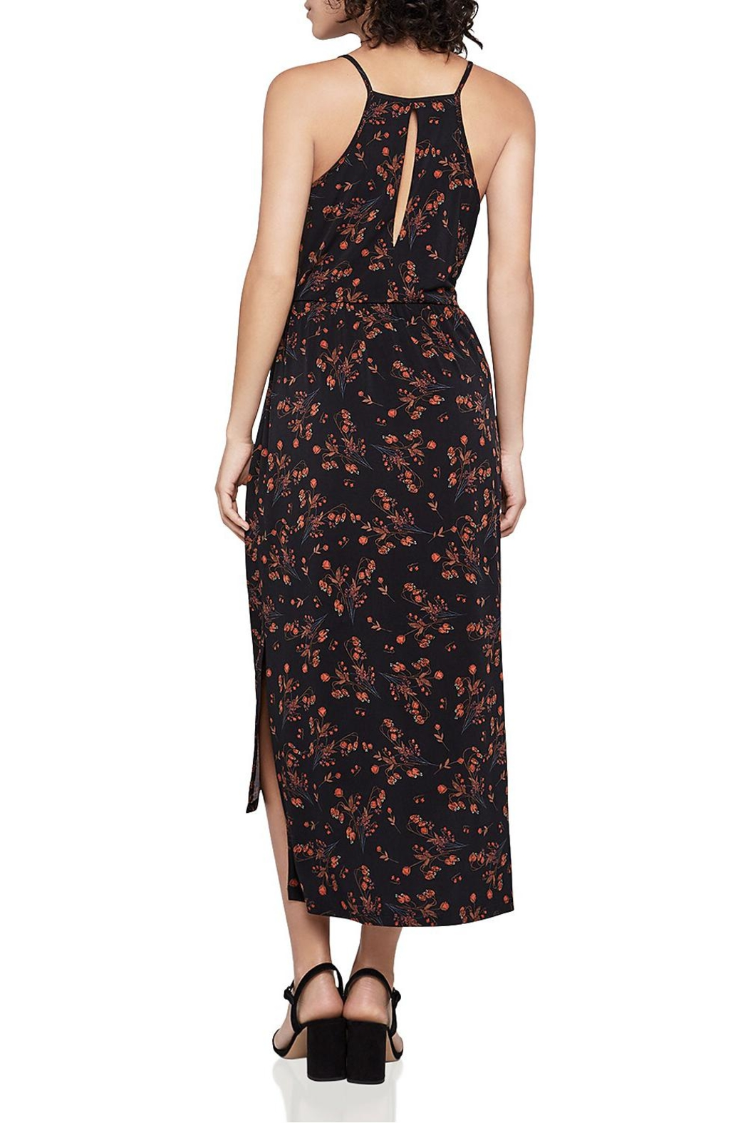 BCBGeneration Faux-Wrap Midi Dress - Front Full Image