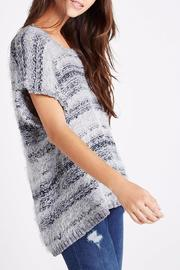BCBGeneration Feather Yarn Sweater - Product Mini Image