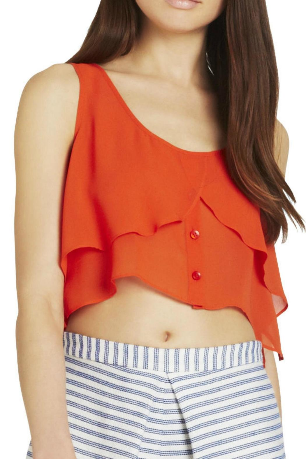 356621c582d BCBGeneration Flowy Cropped Tank from Texas by Red Swagger — Shoptiques