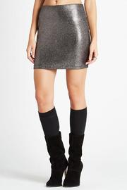 Shoptiques Product: Foil Knit Skirt