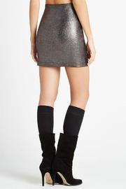 Shoptiques Product: Foil Knit Skirt - Side cropped