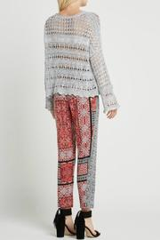 BCBGeneration Grey Sweater - Front full body