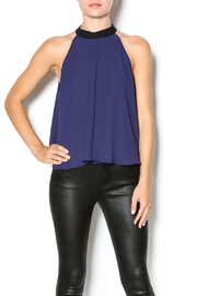BCBGeneration Halter Bow Blouse - Product Mini Image