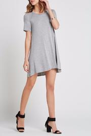 BCBGeneration Heathered Jersey Dress - Front cropped
