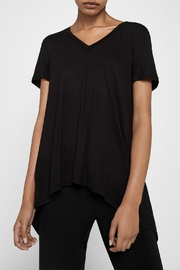 BCBGeneration High Low Cross Top - Front cropped