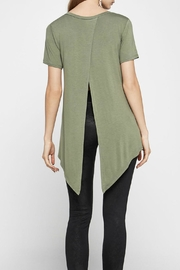BCBGeneration High Low Cross Top - Front full body