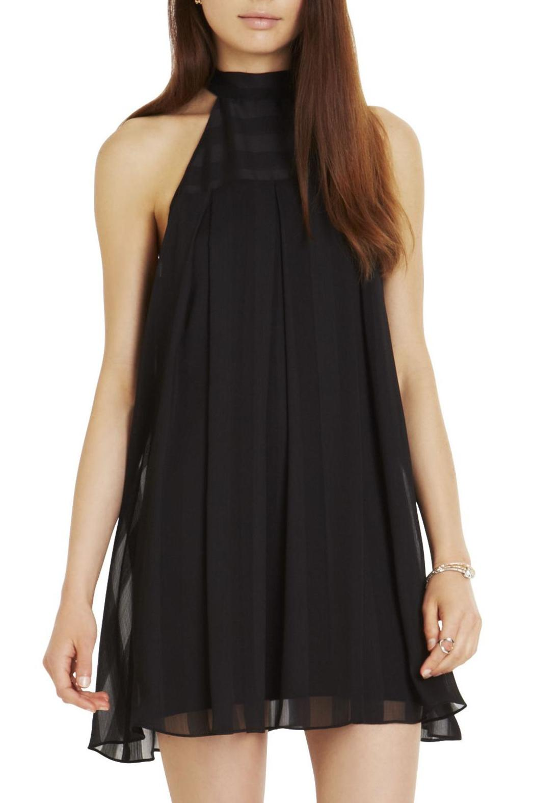 96b4e9716 BCBGeneration High-Neck Pleated Dress from Orlando by Charyli ...