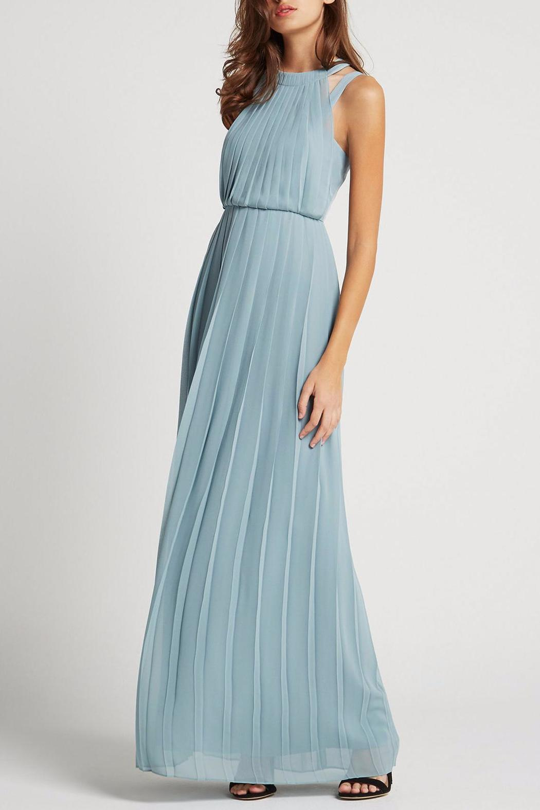 BCBGeneration High-Neck Maxi Dress from Georgia by High Maintenance ...