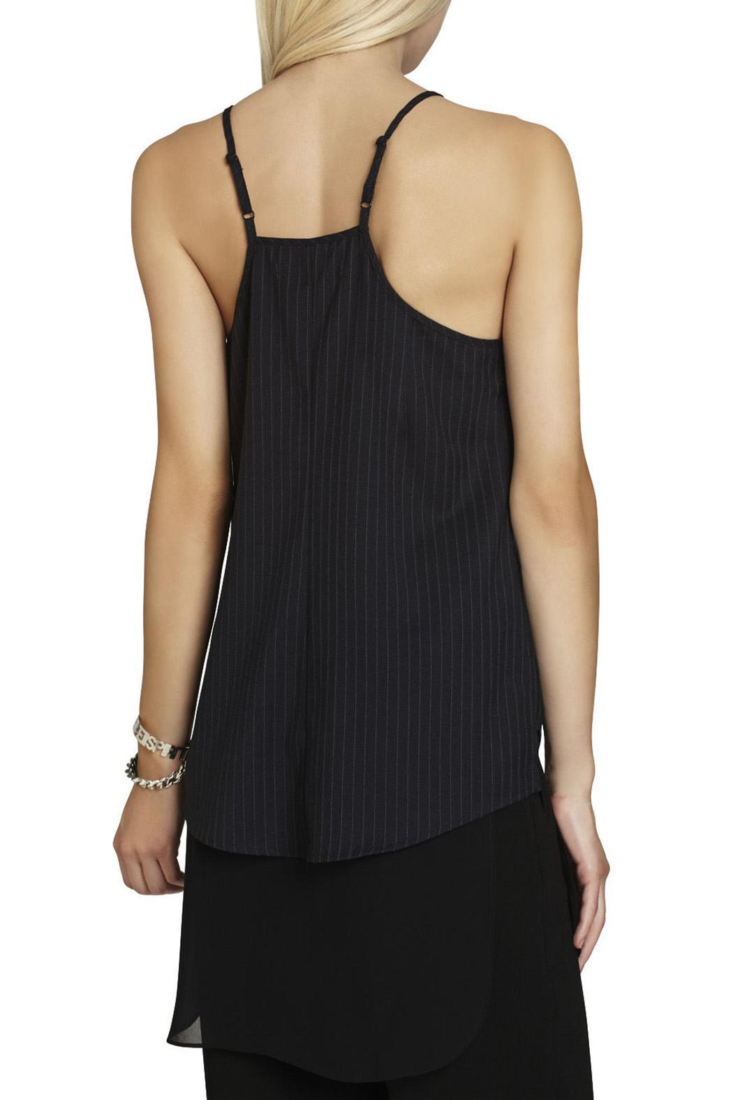 BCBGeneration High-Neck Slip Top - Front Full Image