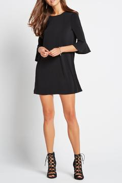 Shoptiques Product: Knit Fluted Sleeve Dress