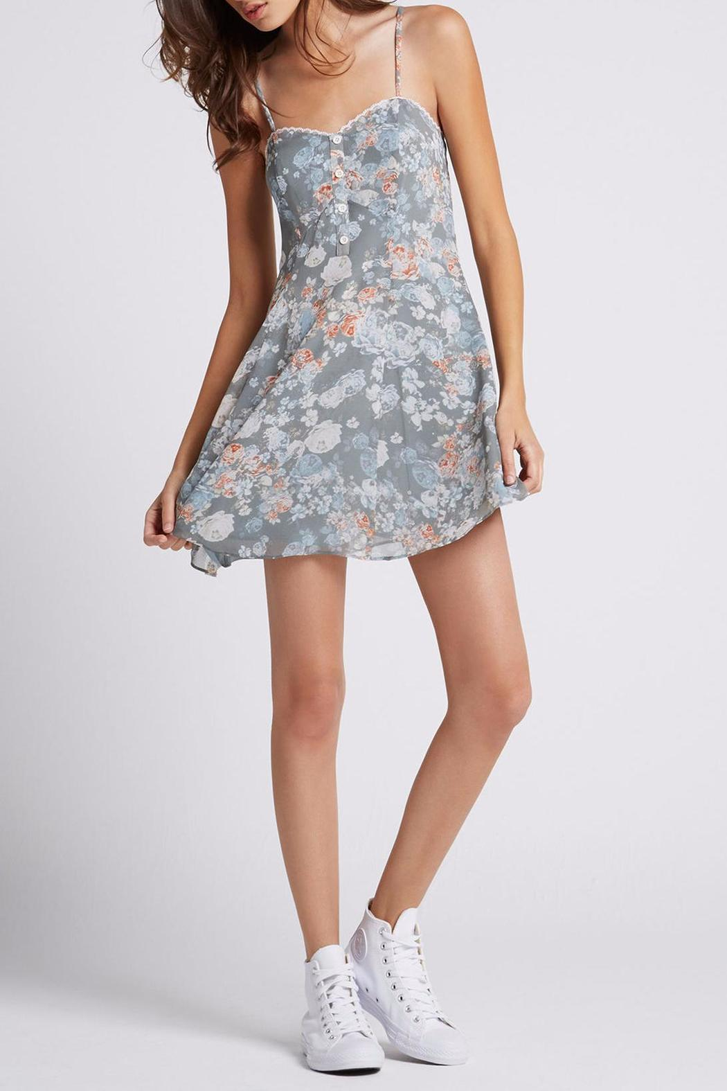 BCBGeneration Lace Slip Dress - Main Image