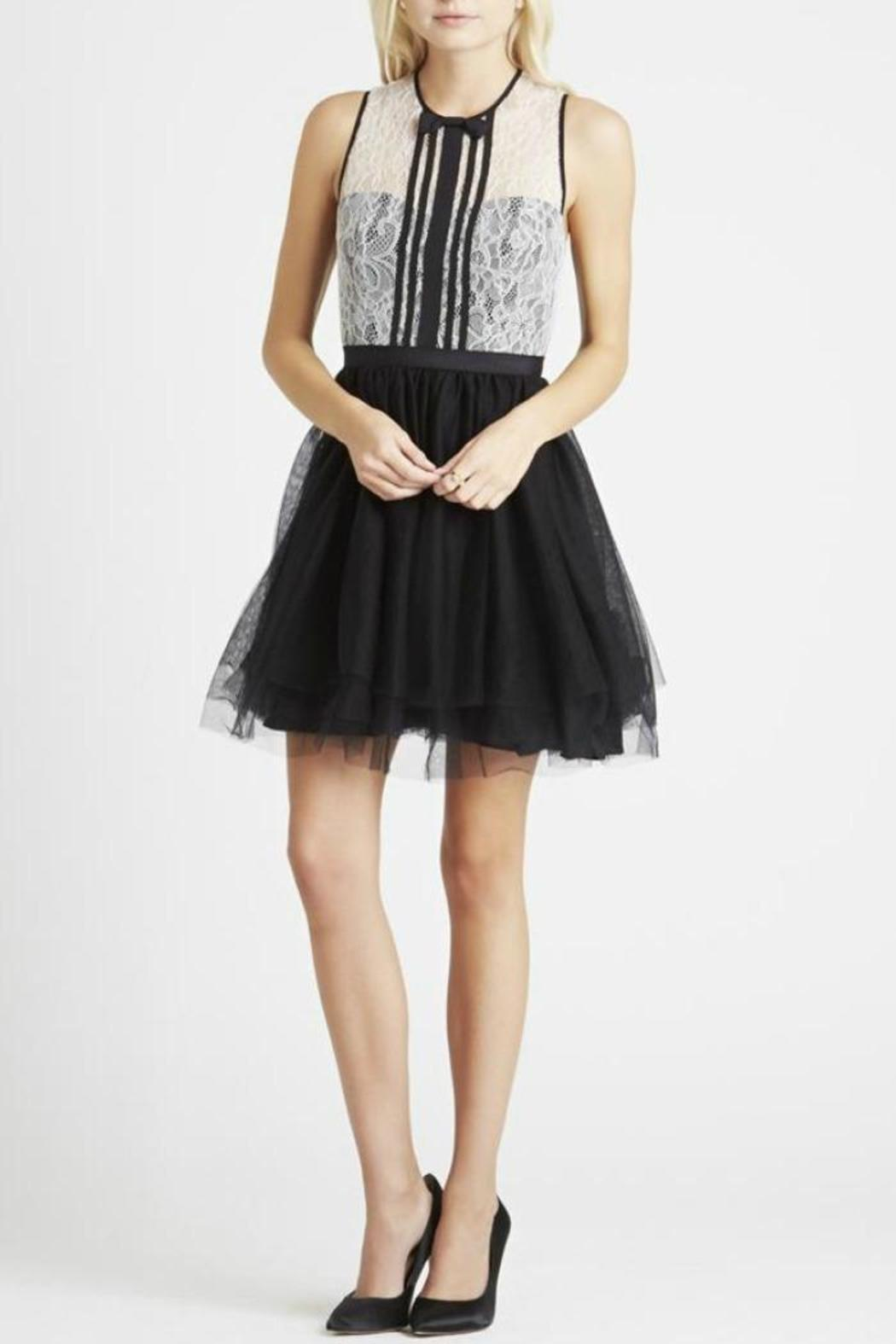 BCBGeneration Lace/tulle Dress - Front Cropped Image