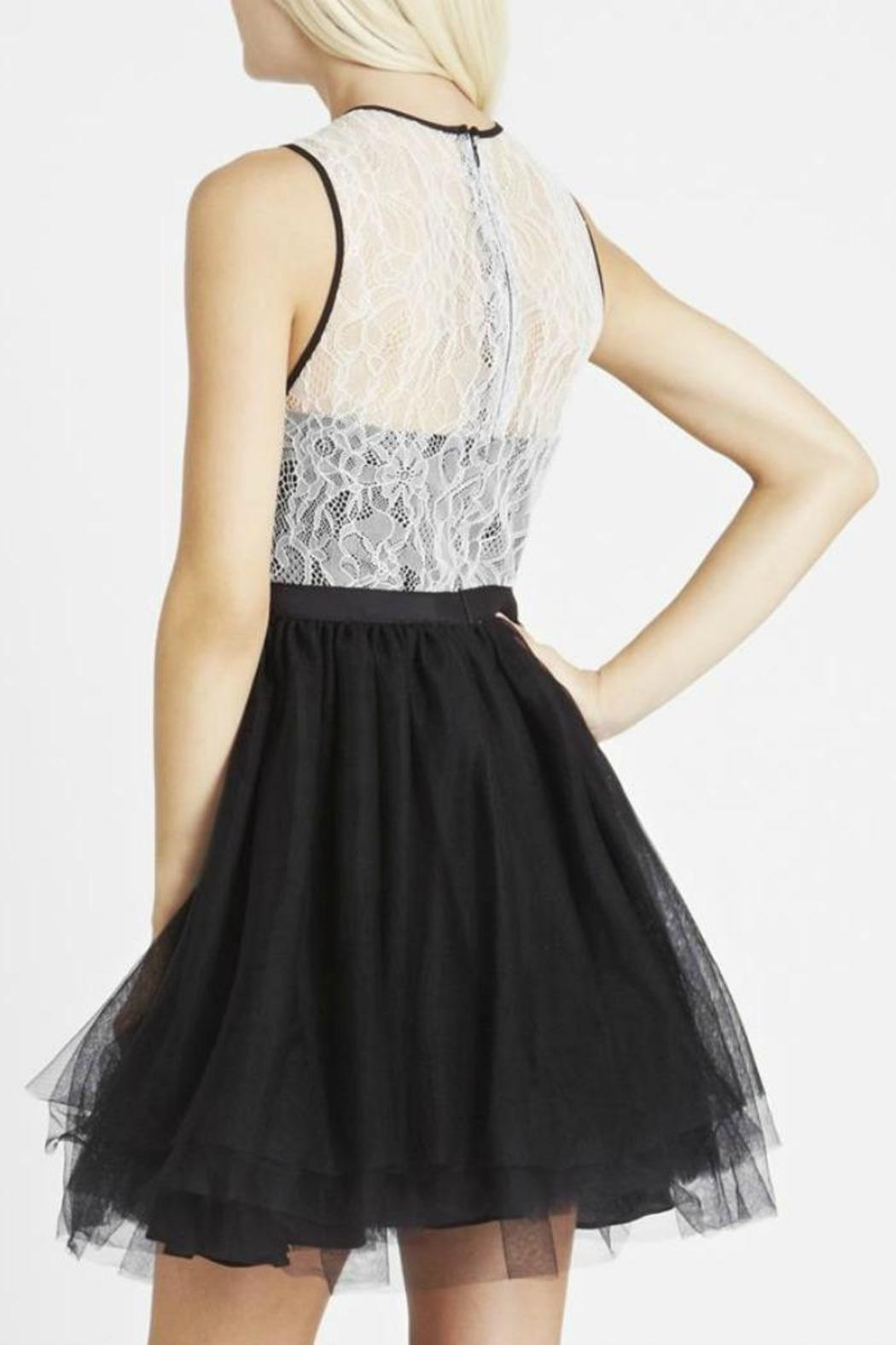 BCBGeneration Lace/tulle Dress - Side Cropped Image