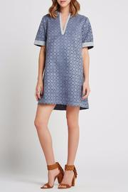 BCBGeneration Laser-Cut A-Line Dress - Front full body