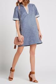 BCBGeneration Laser-Cut A-Line Dress - Front cropped