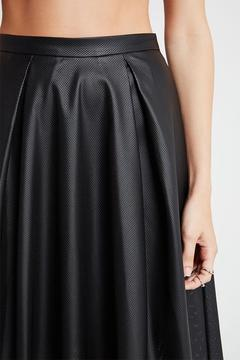 Shoptiques Product: Leather Perforated Skirt