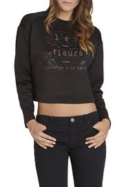 BCBGeneration Les Fleurs Pullover - Front cropped