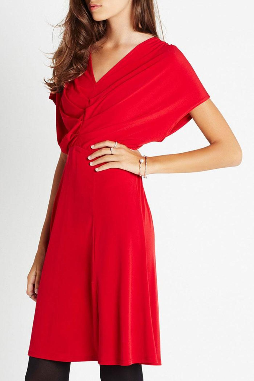 BCBGeneration Little Red Dress - Main Image