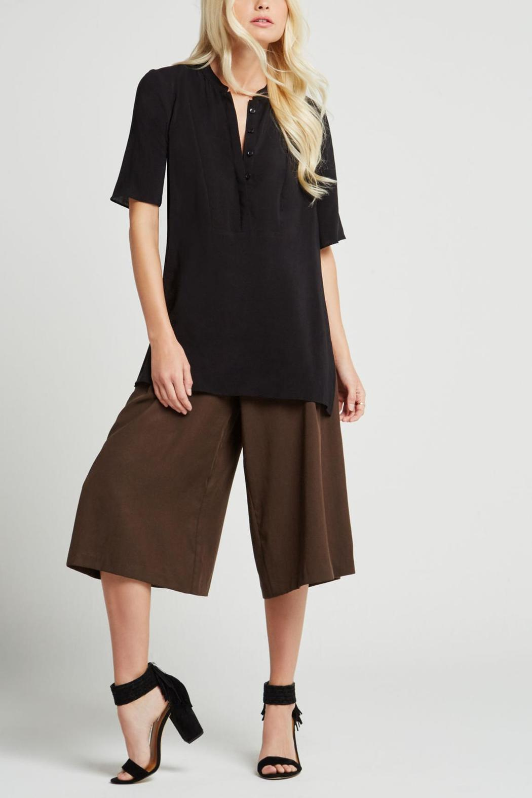 BCBGeneration Hue Short Sleeve Top - Main Image
